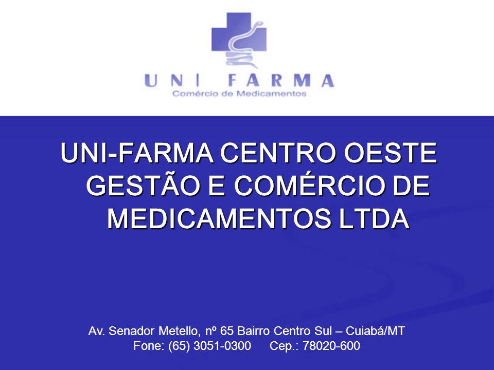 UNI-FARMA CENTRO OESTE GESTÃO E COMÉRCIO DE MEDICAMENTOS LTDA