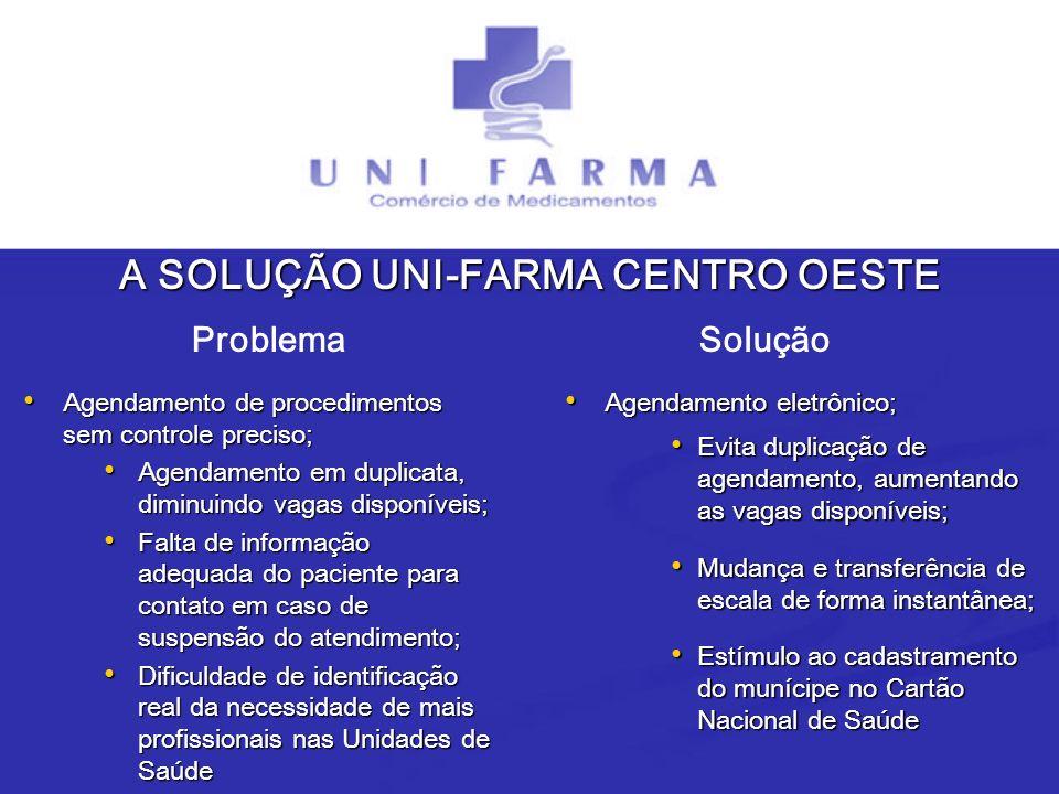 A SOLUÇÃO UNI-FARMA CENTRO OESTE