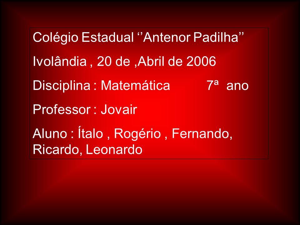 Colégio Estadual ''Antenor Padilha''
