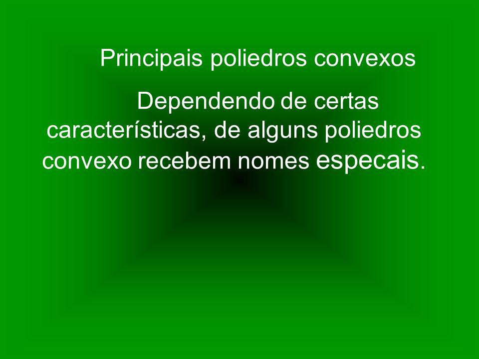 Principais poliedros convexos