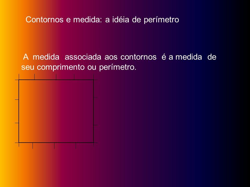 Contornos e medida: a idéia de perímetro