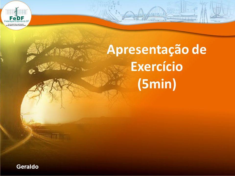 Apresentação de Exercício