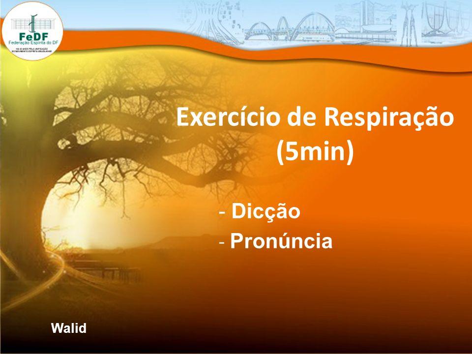 Exercício de Respiração (5min)