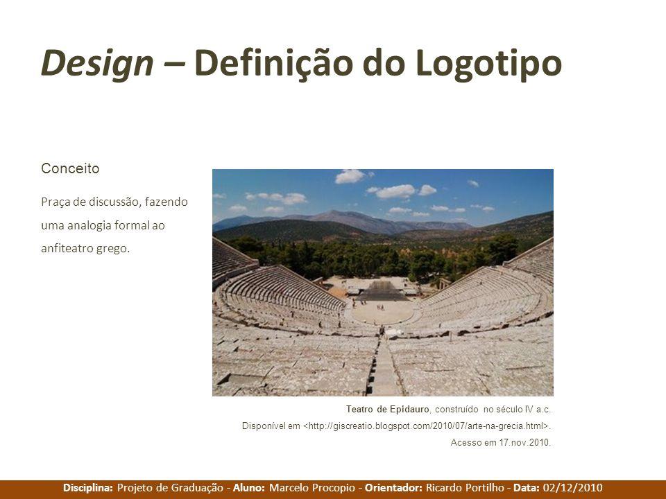 Design – Definição do Logotipo