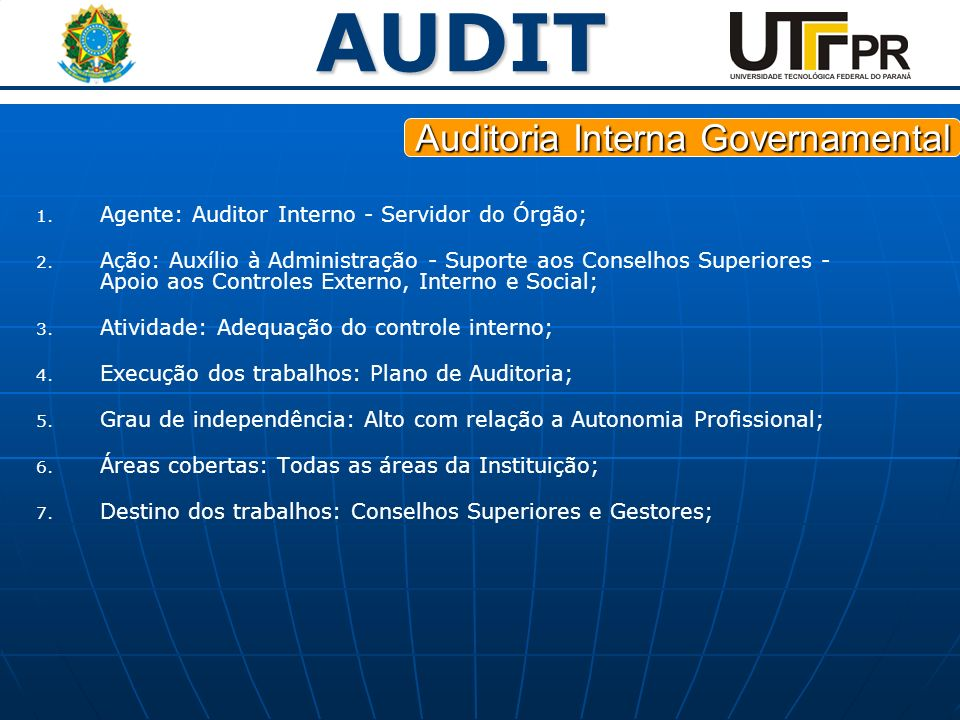 Auditoria Interna Governamental