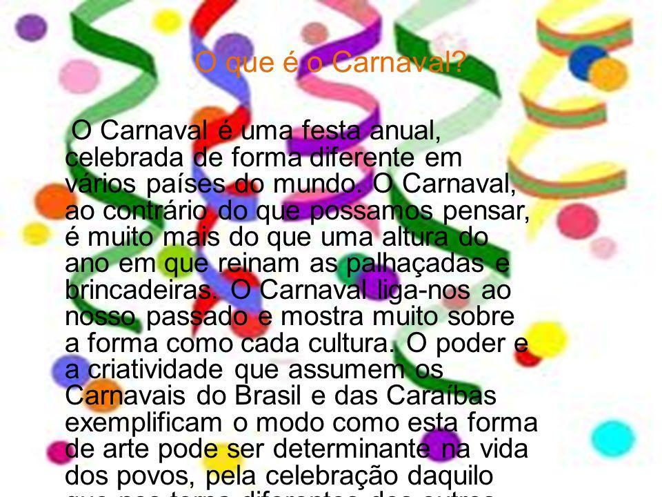 O que é o Carnaval