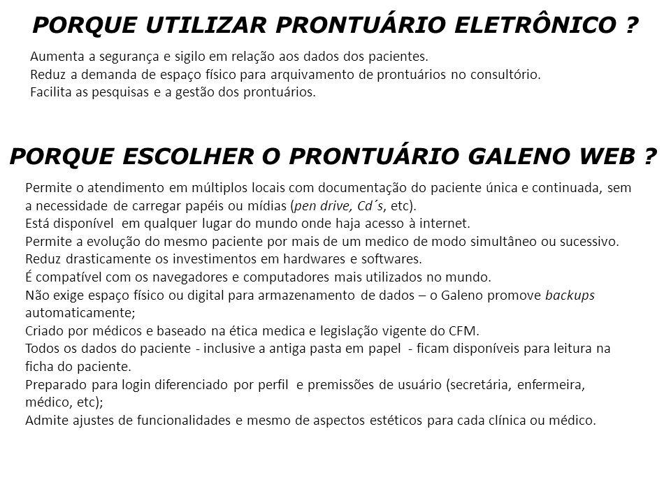 PORQUE UTILIZAR PRONTUÁRIO ELETRÔNICO