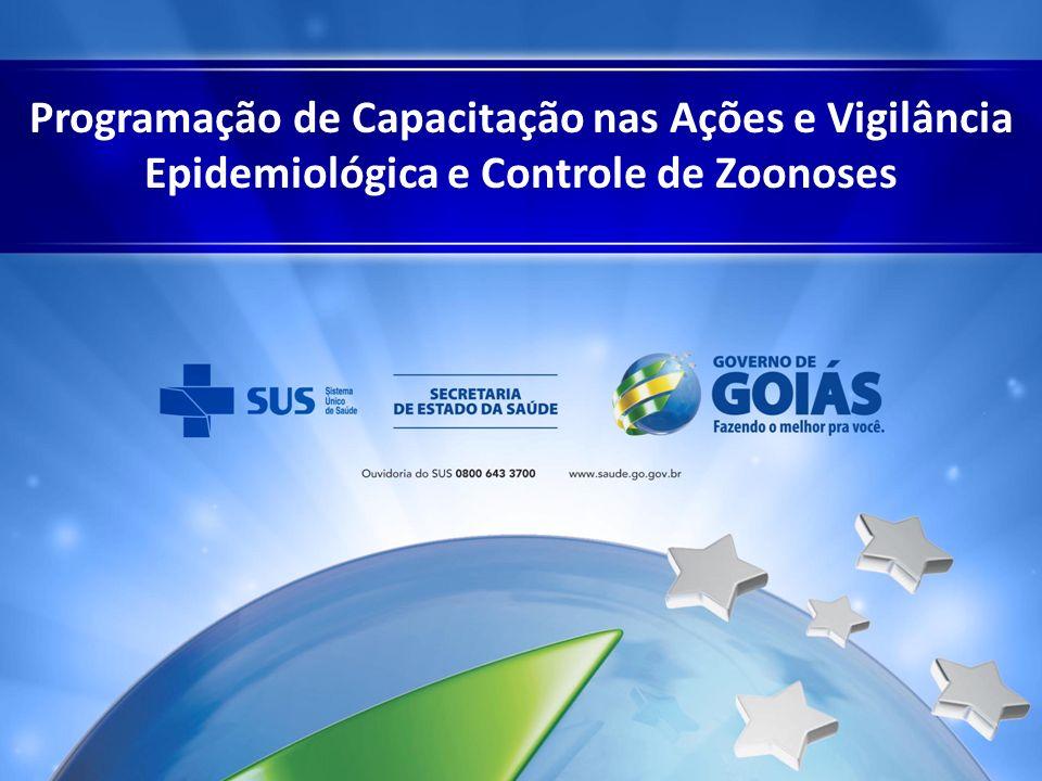 Programação de Capacitação nas Ações e Vigilância Epidemiológica e Controle de Zoonoses