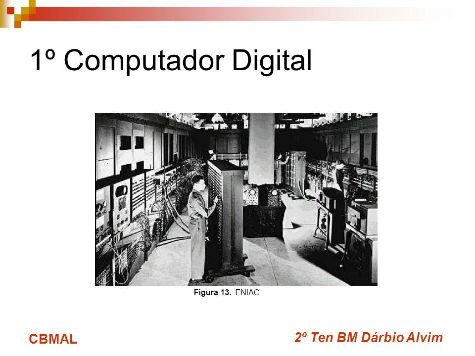 1º Computador Digital CBMAL 2º Ten BM Dárbio Alvim