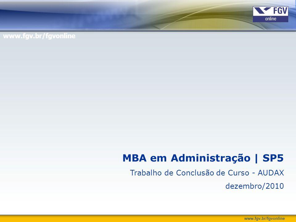 MBA em Administração | SP5