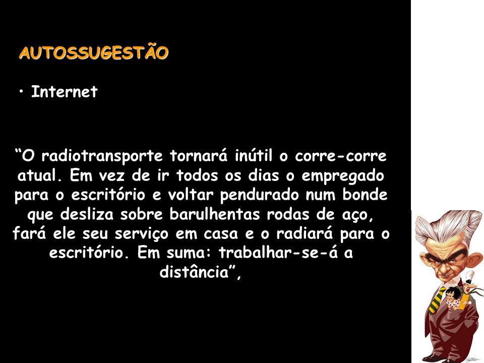 AUTOSSUGESTÃO Internet.