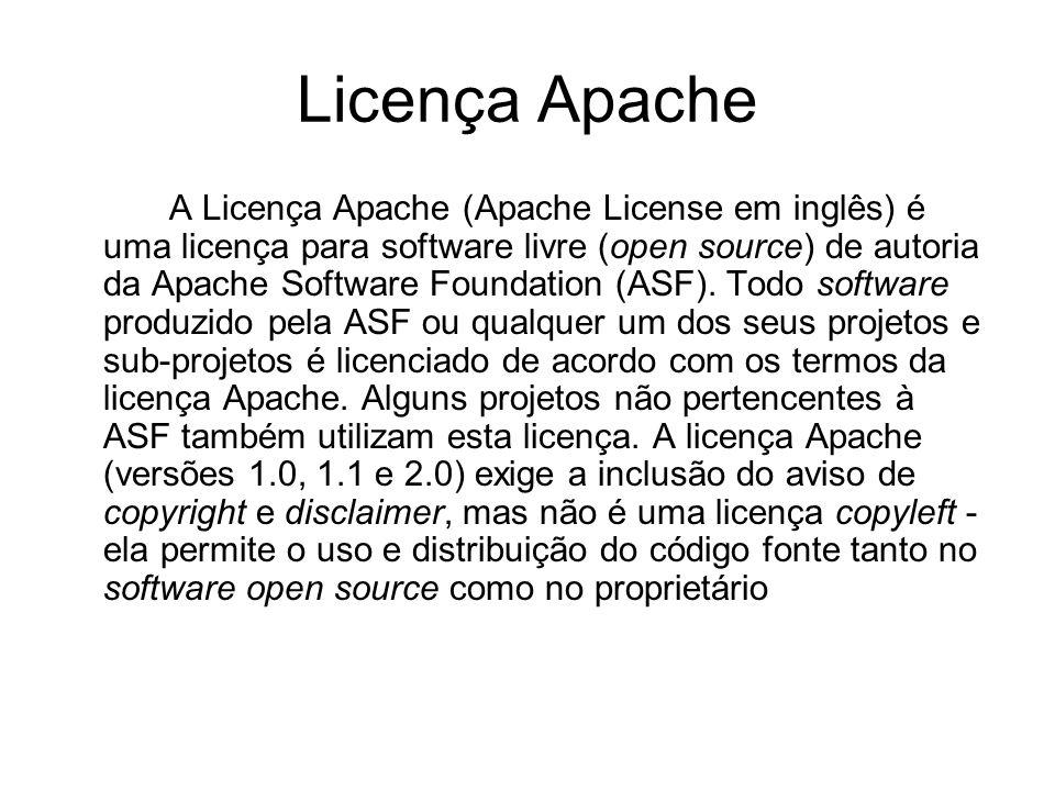 Licença Apache