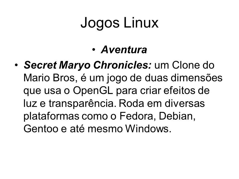 Jogos Linux Aventura.