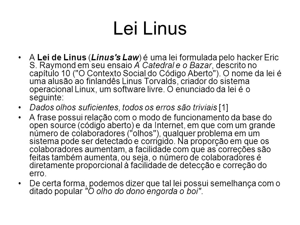 Lei Linus