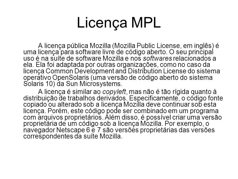 Licença MPL