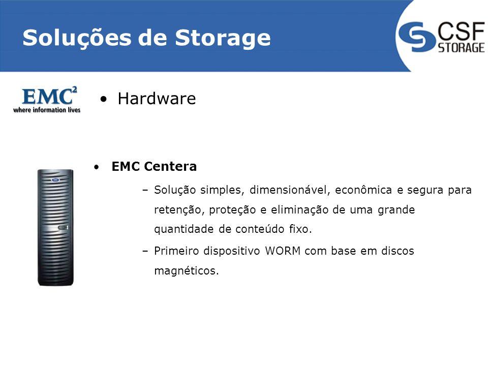 Soluções de Storage Hardware EMC Centera