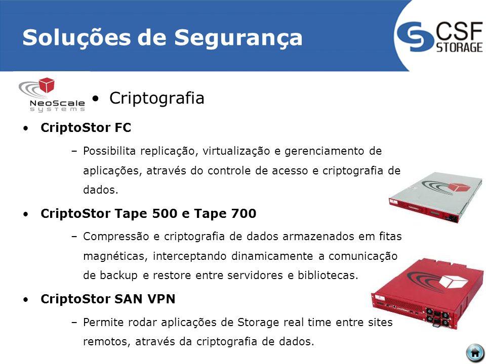 Soluções de Segurança Criptografia CriptoStor FC