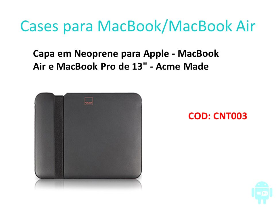Cases para MacBook/MacBook Air