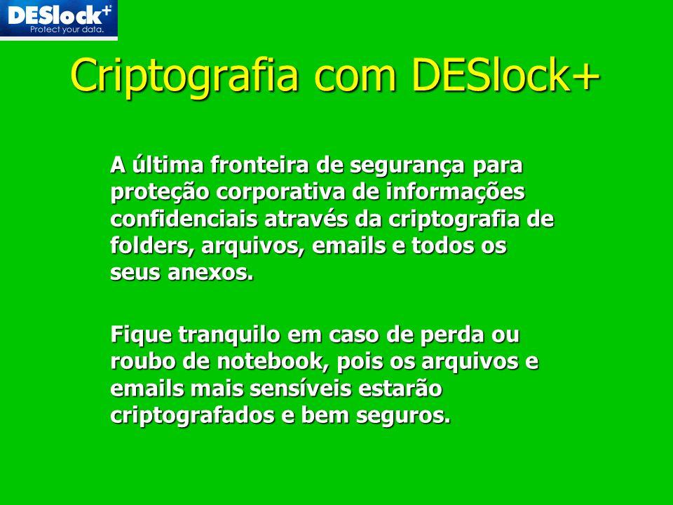 Criptografia com DESlock+