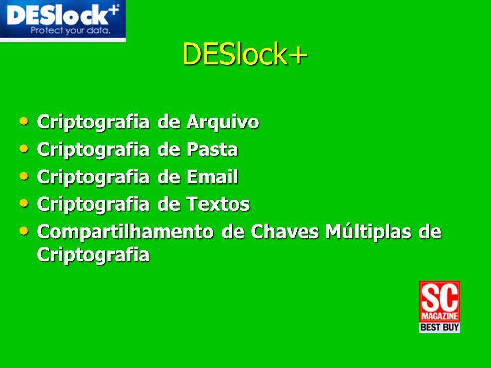 DESlock+ Criptografia de Arquivo Criptografia de Pasta