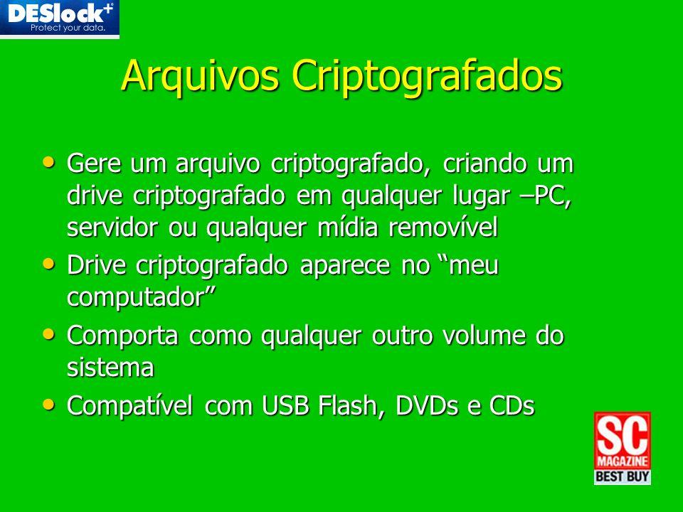 Arquivos Criptografados