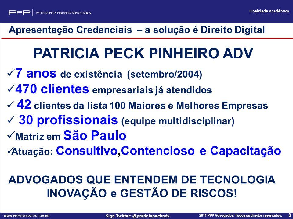 PATRICIA PECK PINHEIRO ADV