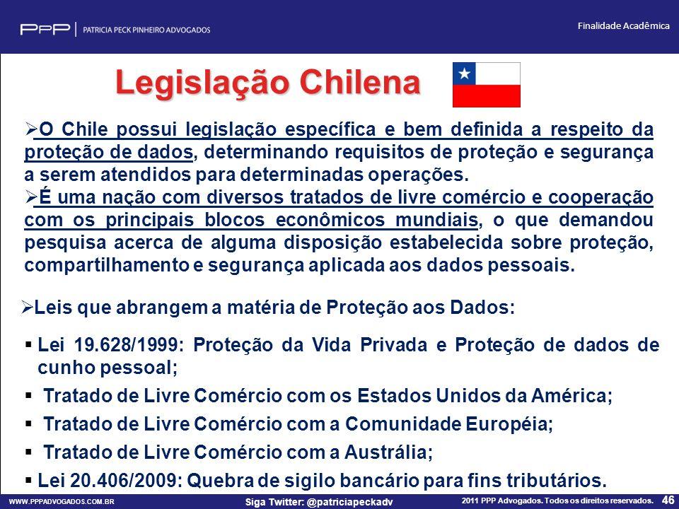 Legislação Chilena