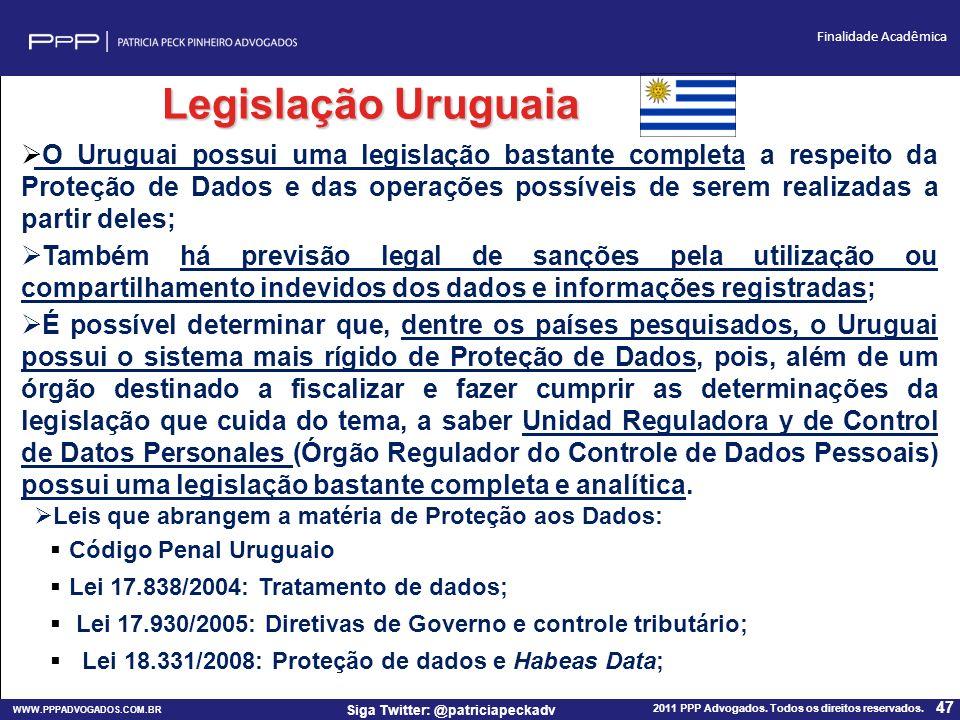 Legislação Uruguaia