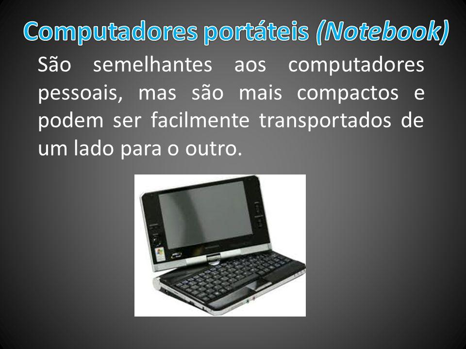 Computadores portáteis (Notebook)