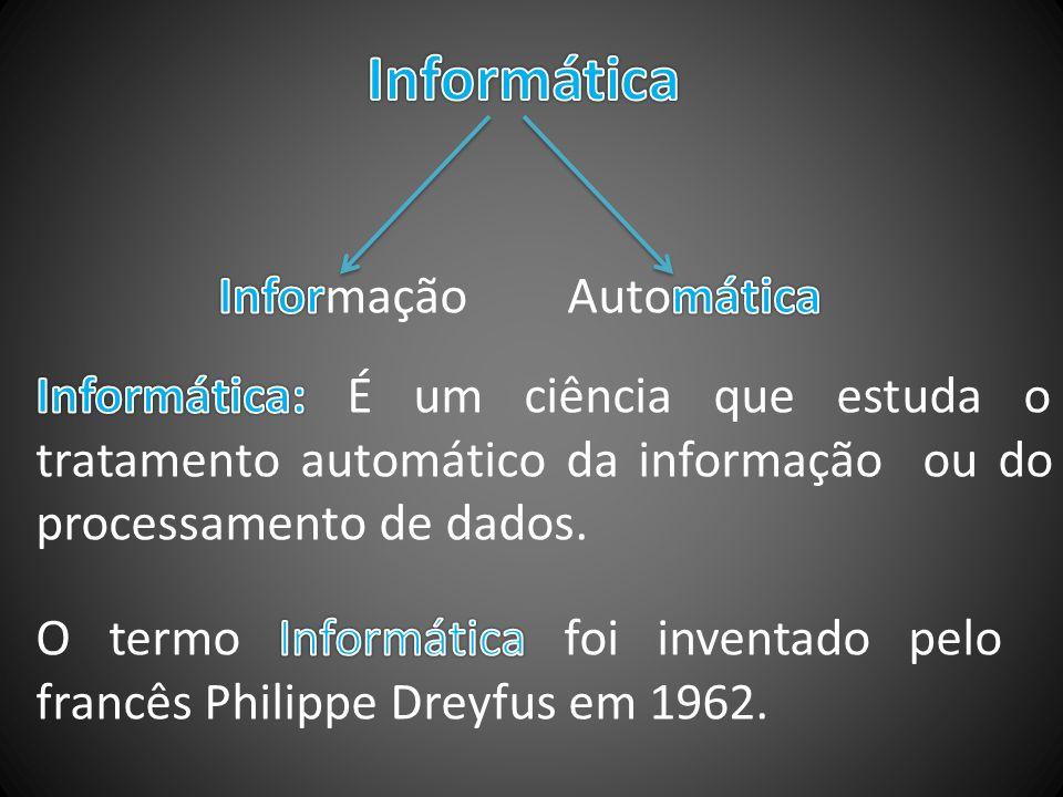 Informática Informação Automática