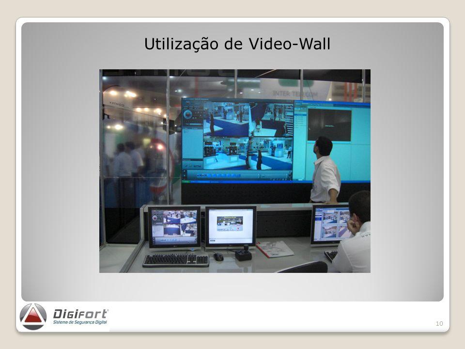 Utilização de Video-Wall