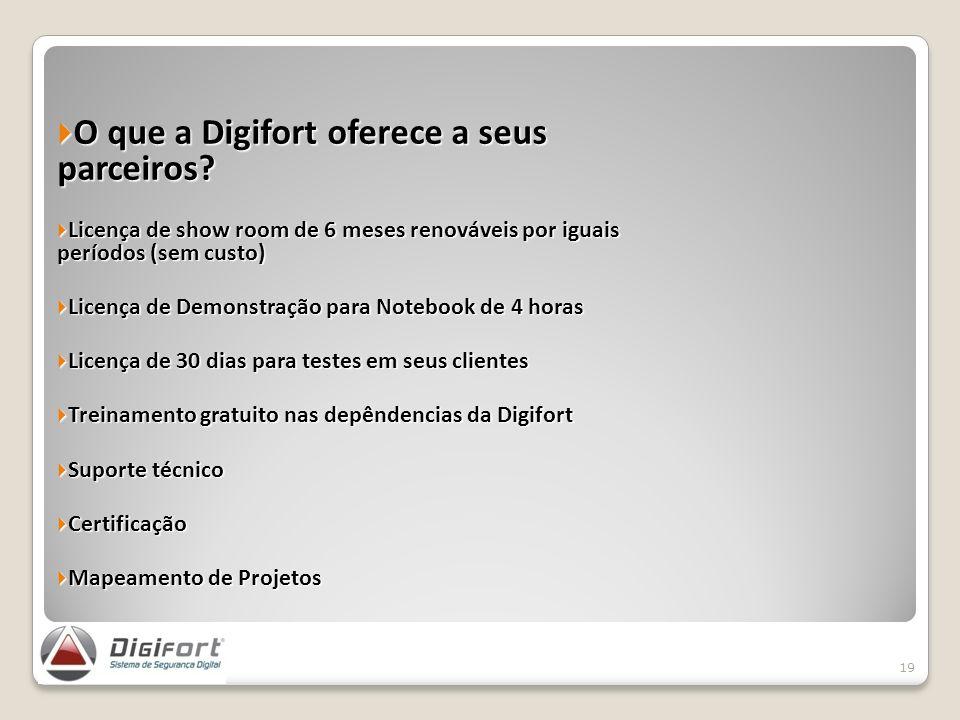 O que a Digifort oferece a seus parceiros