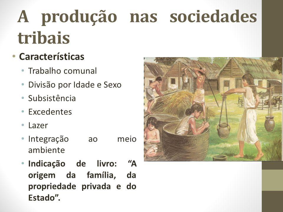 A produção nas sociedades tribais