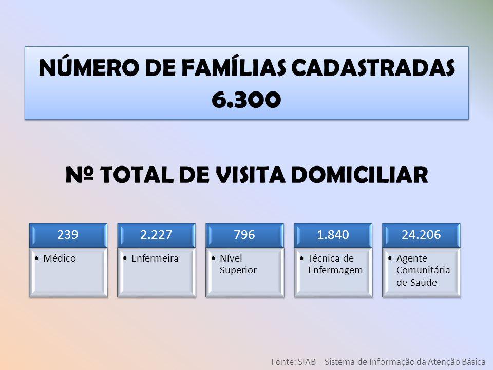 Nº TOTAL DE VISITA DOMICILIAR