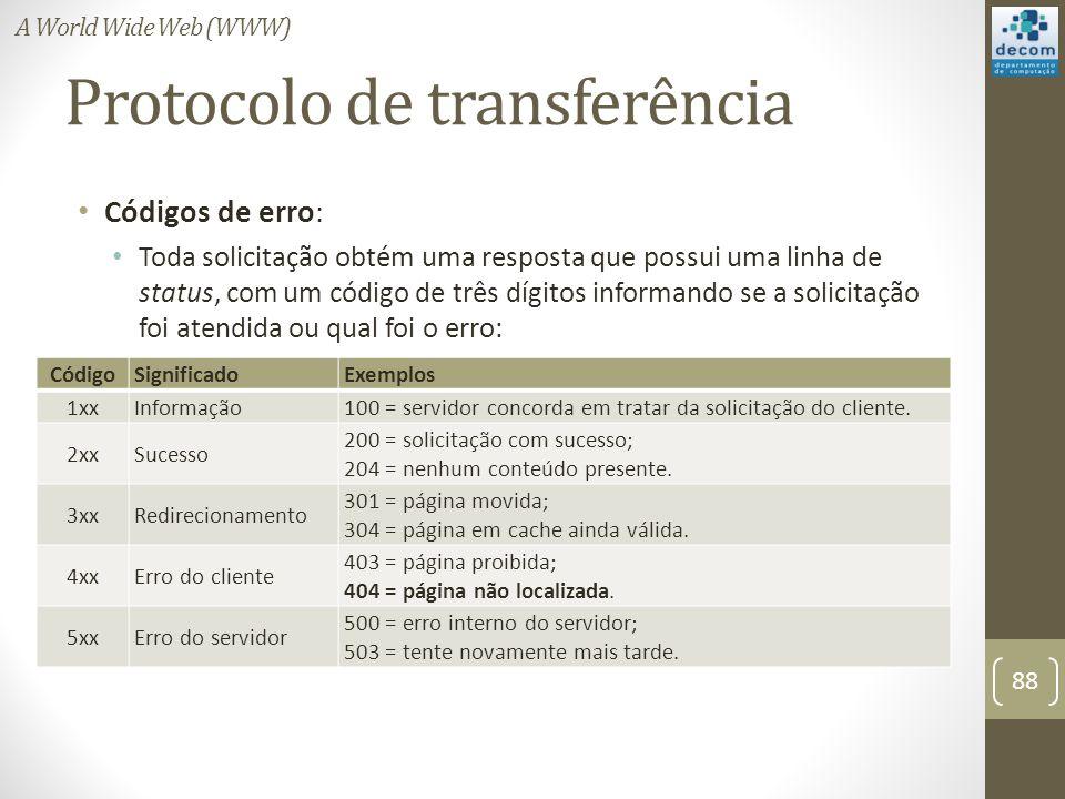 Protocolo de transferência