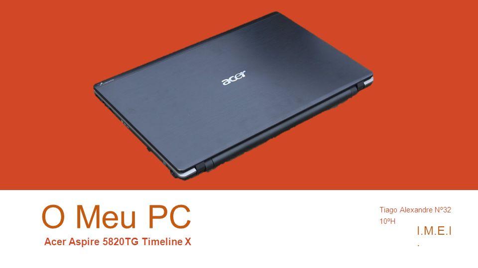 Acer Aspire 5820TG Timeline X