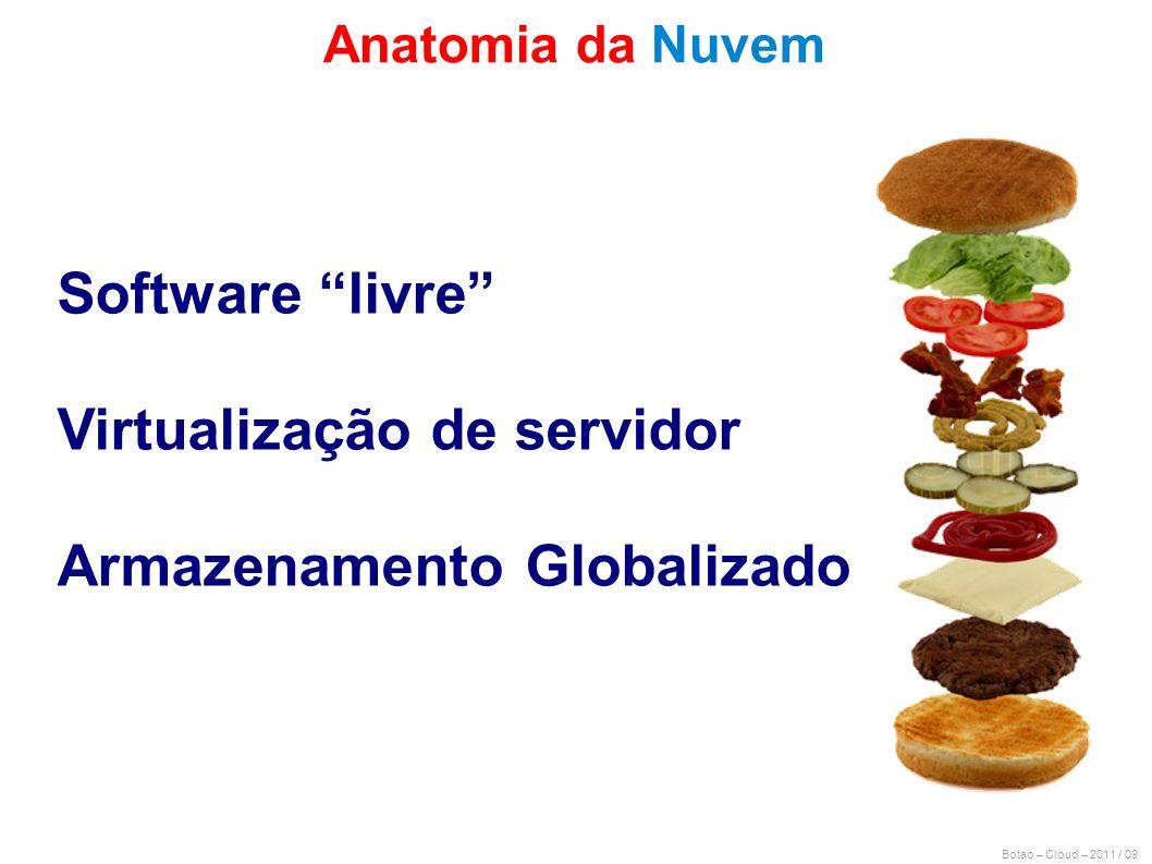 Virtualização de servidor Armazenamento Globalizado