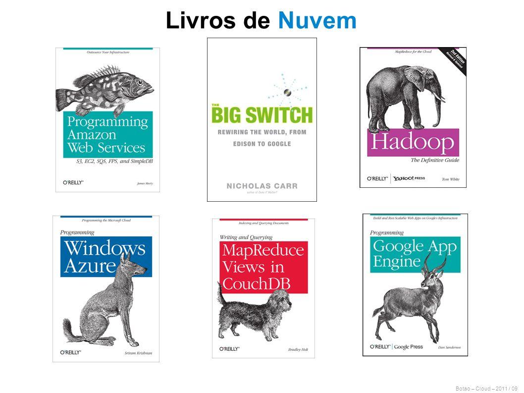Livros de Nuvem Botao – Cloud – 2011 / 09