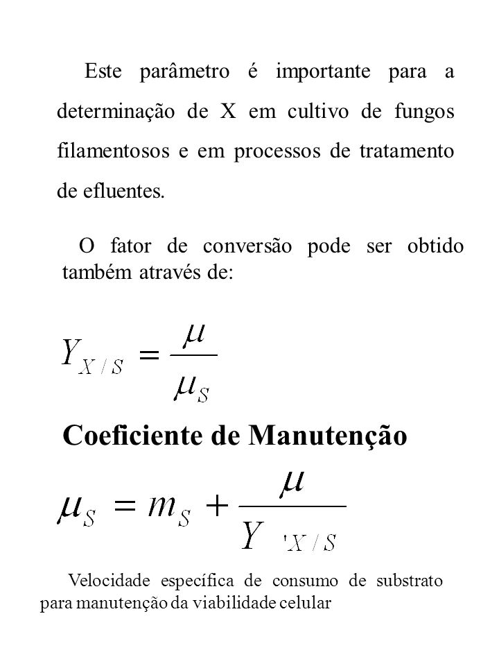Coeficiente de Manutenção