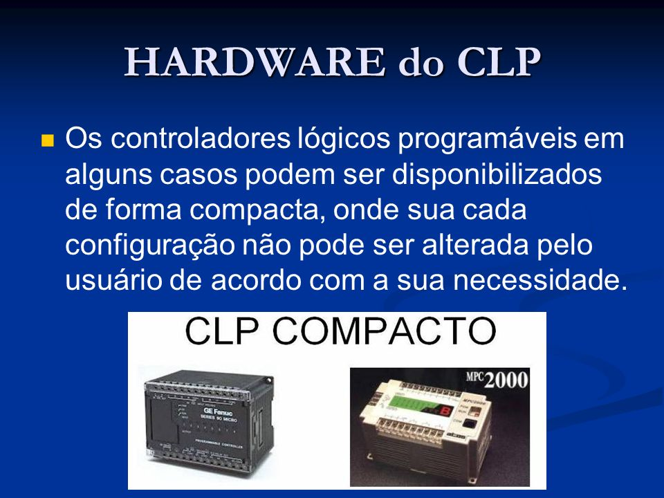 HARDWARE do CLP
