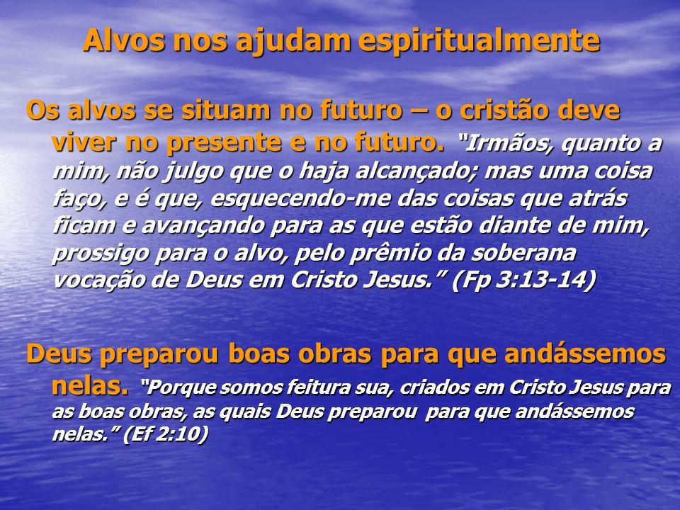 Alvos nos ajudam espiritualmente