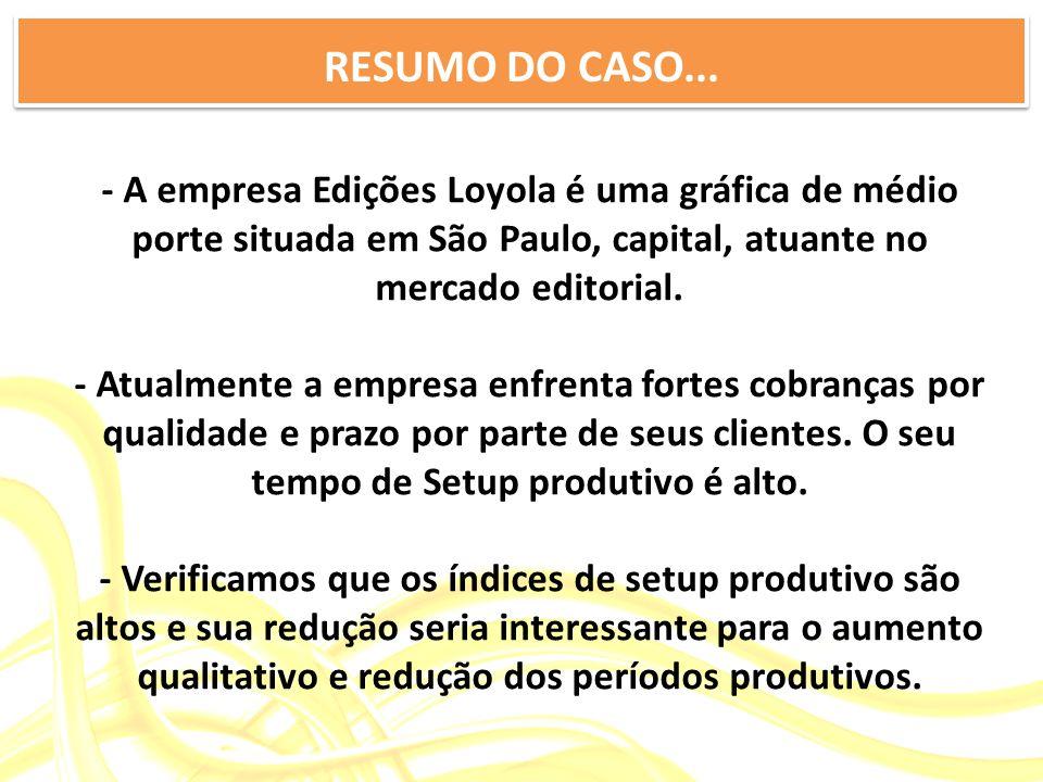 RESUMO DO CASO...