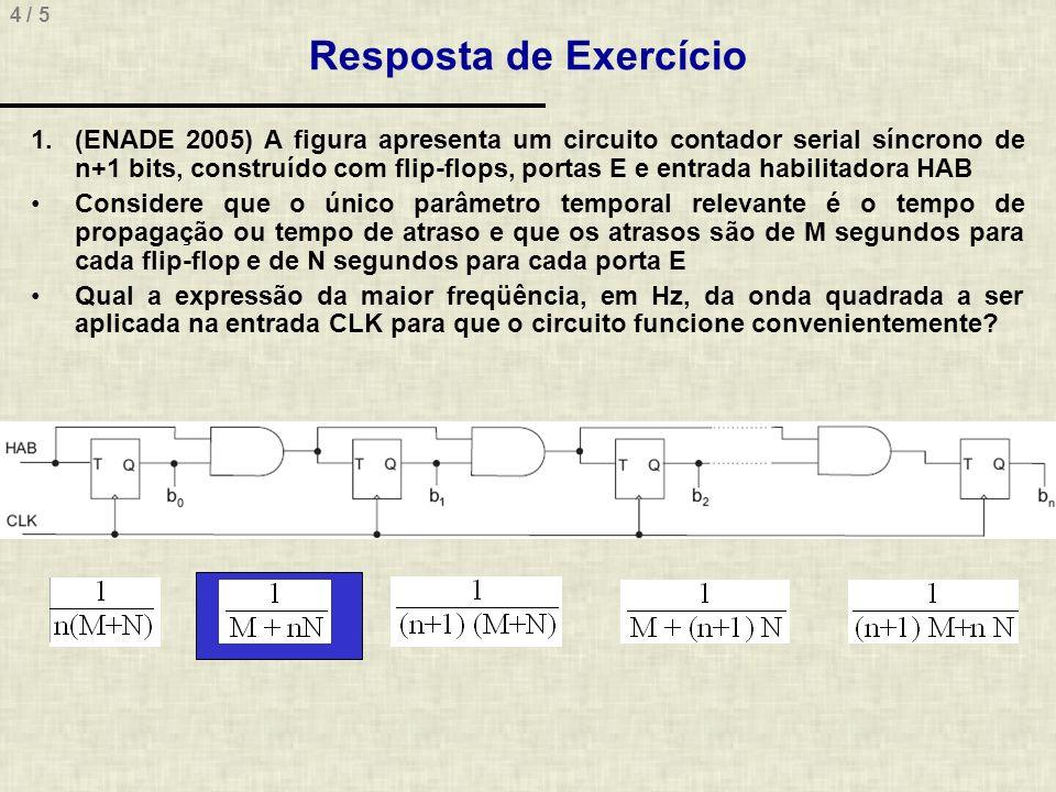 Resposta de Exercício