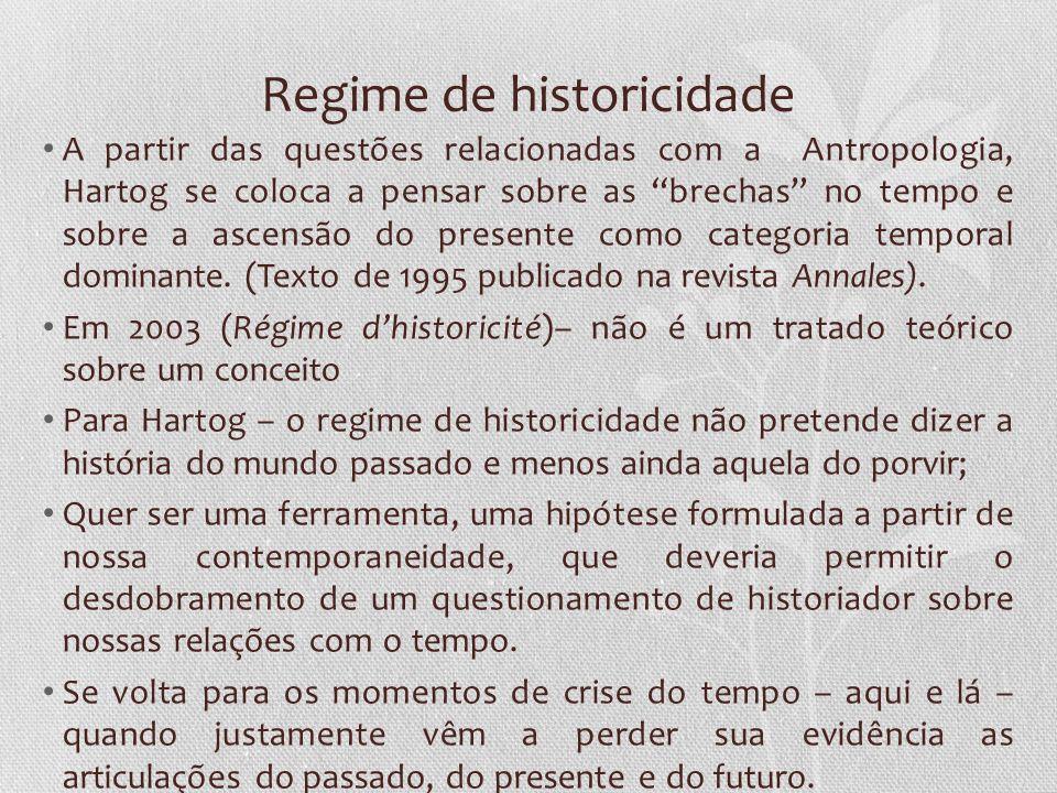 Regime de historicidade