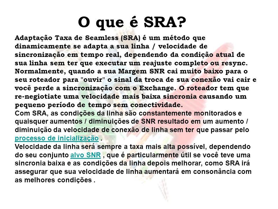 O que é SRA