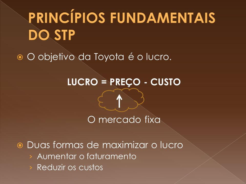 PRINCÍPIOS FUNDAMENTAIS DO STP