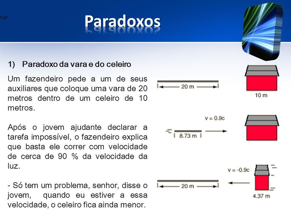 Paradoxos Paradoxo da vara e do celeiro