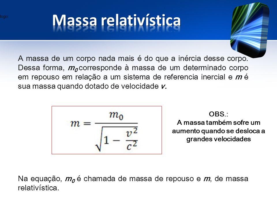 logo: Massa relativística.