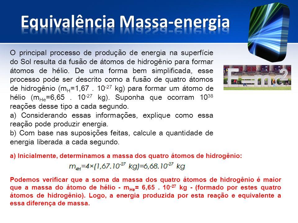 Equivalência Massa-energia