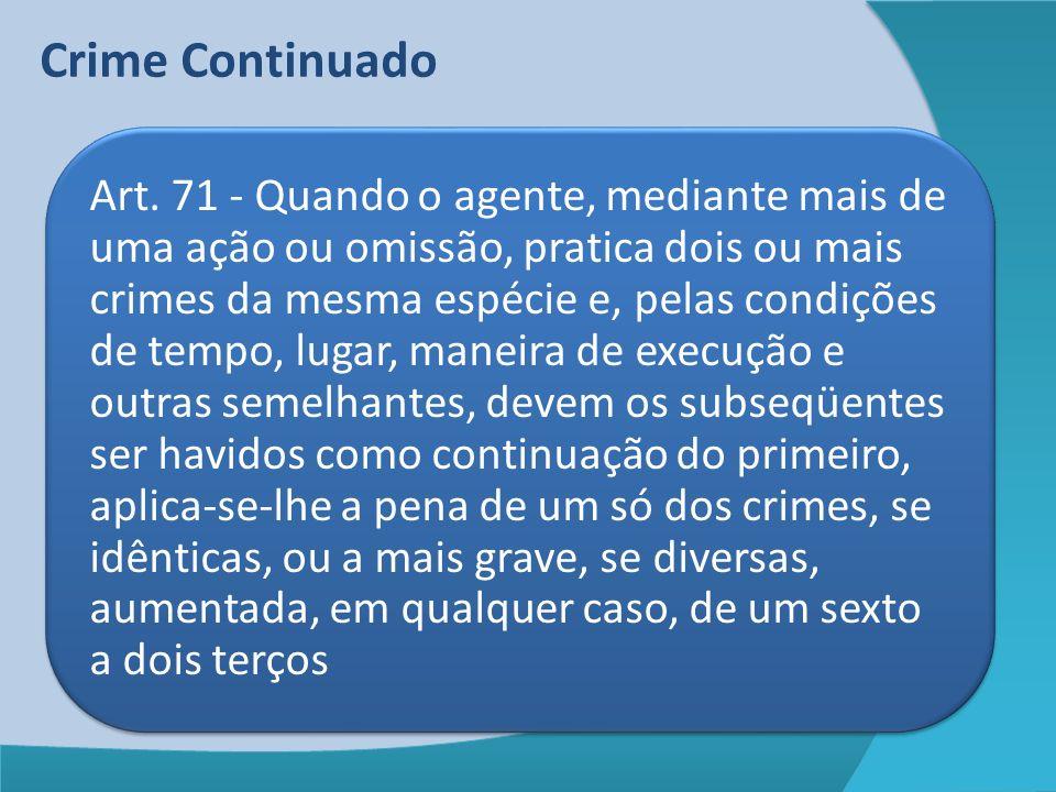 Crime Continuado